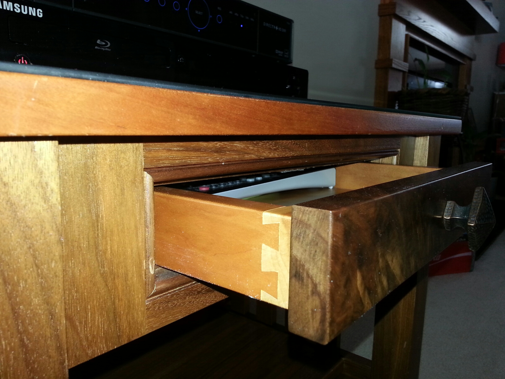 Endtable-drawer